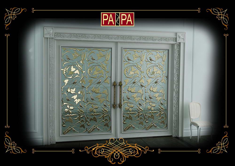Межкомнатная дверь коллекция Белый Шоколад, Арт. БШ02