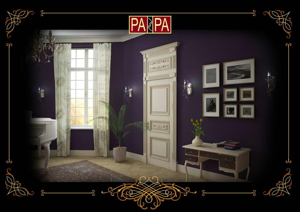 Межкомнатная дверь коллекция Версаль