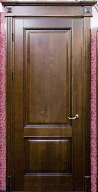 Деревянная дверь под лак Арт. Л06