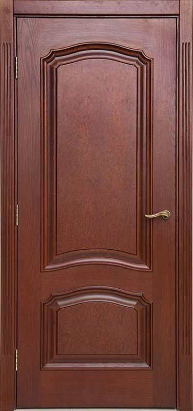 Деревянная дверь под лак Арт. Л07