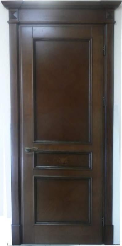 Деревянная дверь под лак Арт. Л10