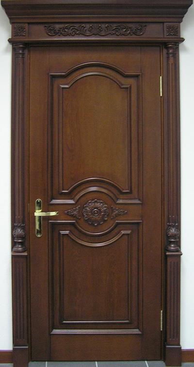 Деревянная дверь под лак Арт. Л11