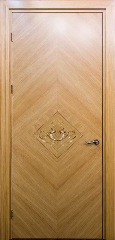 Дверь с маркетри