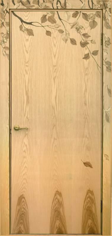 """Двери межкомнатные мозаичные - """"Листья шелестят"""""""