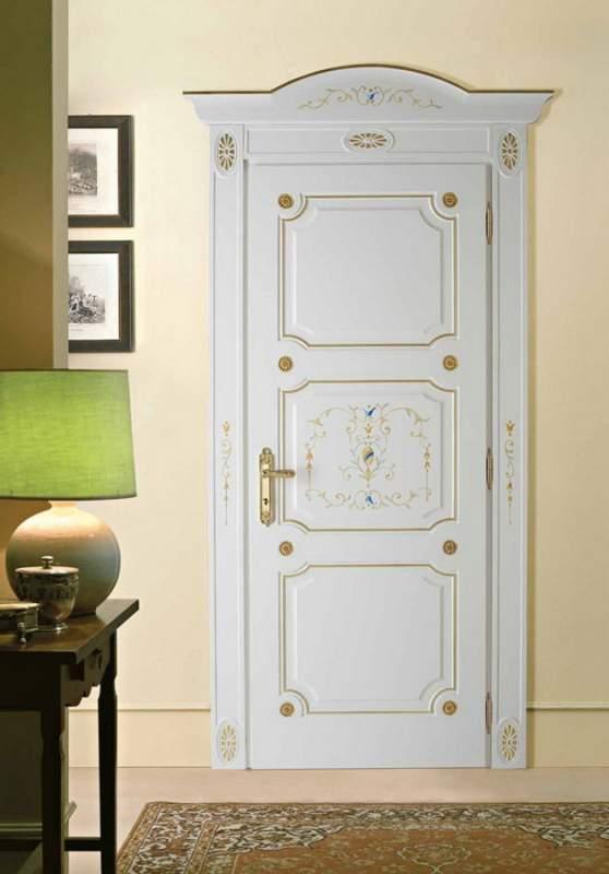 Деревянная дверь под покраску Арт. П03