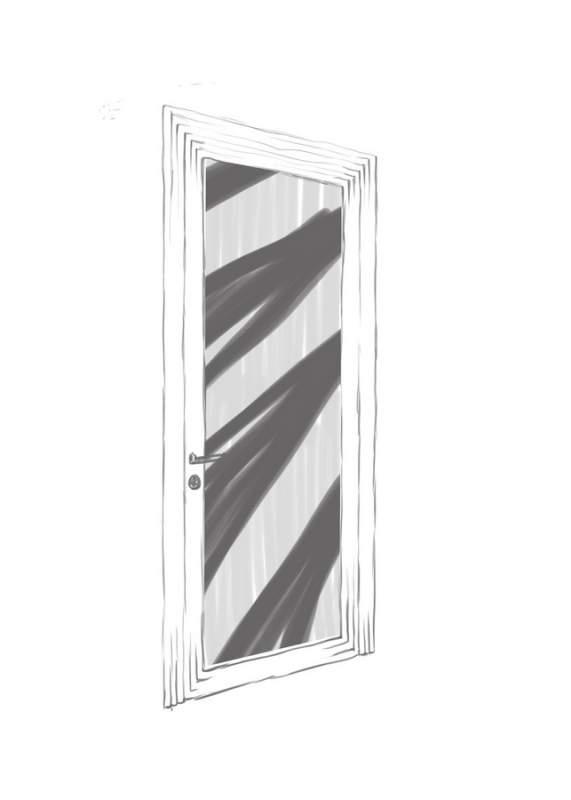 """Двери межкомнатные - """"Лучи света"""""""