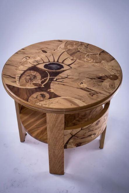 Журнальный столик - Глаз океана