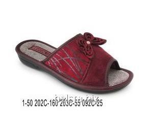 Женские тапочки 1-50/202 С-212/203 С-160