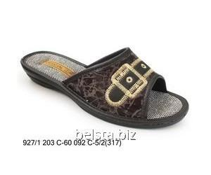Women's slippers with 927/317/203-60