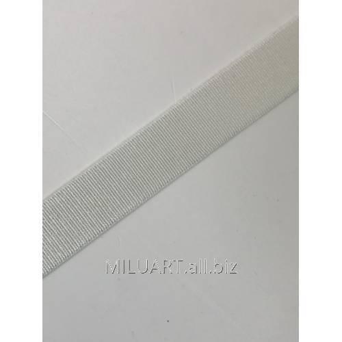 Бретелечная резинка эластичная, плоская Молочная Е7396-15