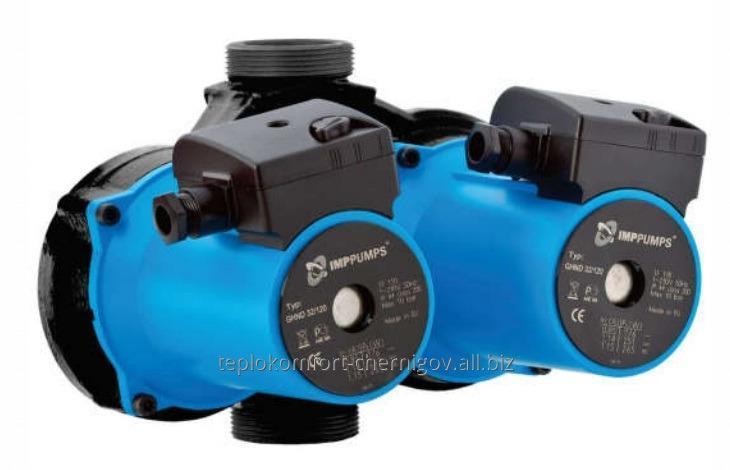 Купить Циркуляционный насос IMP PUMPS GHND 3х-скоростной, мокрый ротор