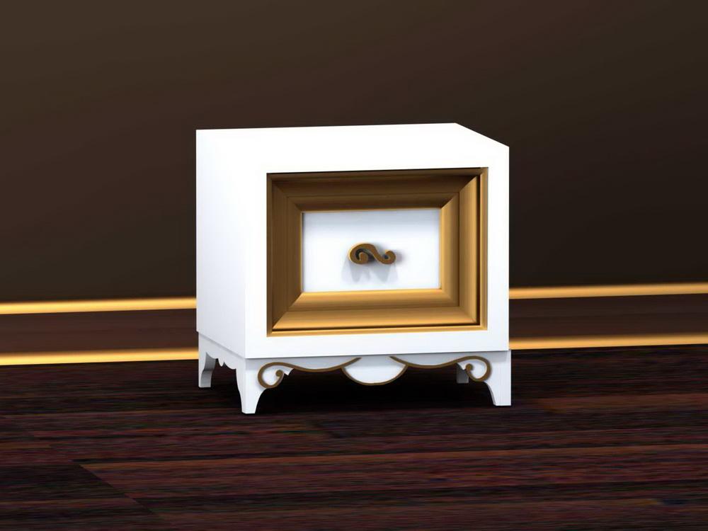 Тумба прикроватная на 1-ин ящик 500 x 400 x 472 арт. GR-113