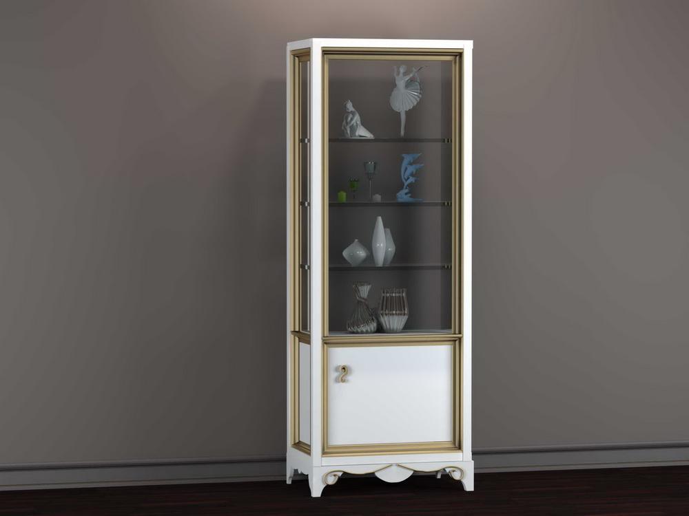 Витрина 1-но дверная 800 x 500 x 2200 арт. GR-146