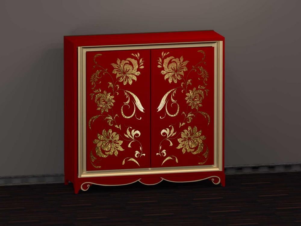Шкаф 2-х дверный арт. GR-153