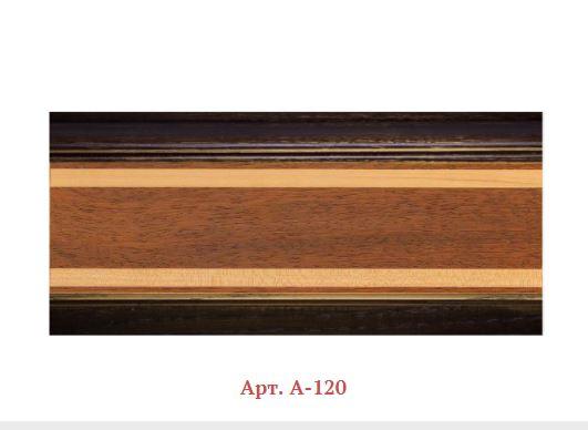 Плинтус деревянный мозаичный Арт. А-120