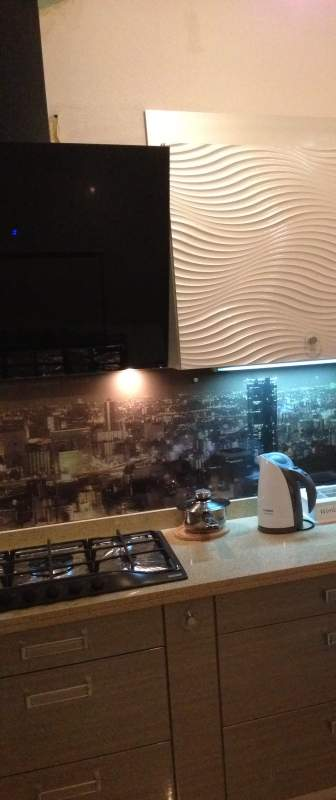 Кухонный фартук Город