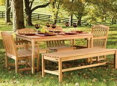 Купить Мебель деревянная садовая