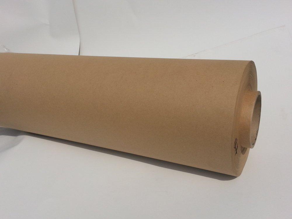 Крафт бумага для упаковки,  пл. 40-100 г/м2, ф. 42-102 см