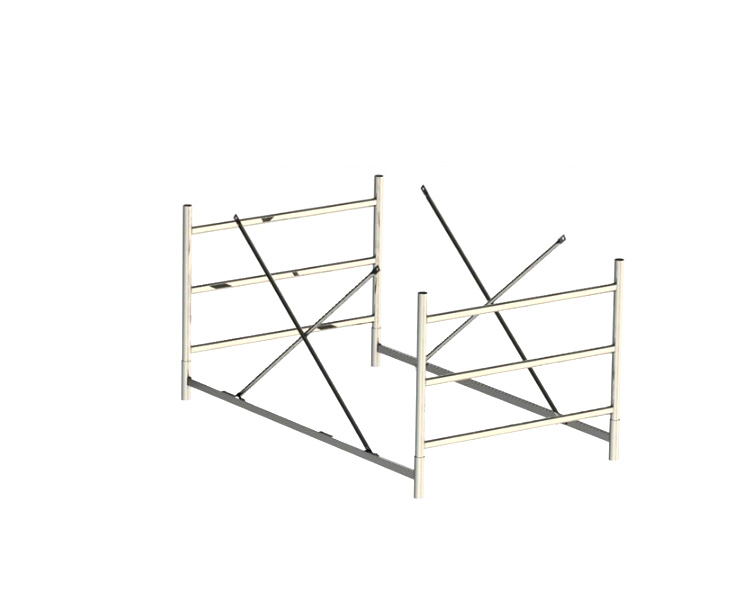 Buy The span of 0.9 m rolling scaffolds EUROTECH SVELT