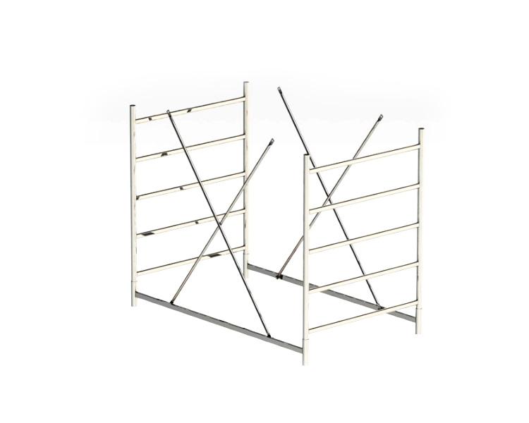 Buy Span 1.5 m rolling scaffolds EUROTECH SVELT