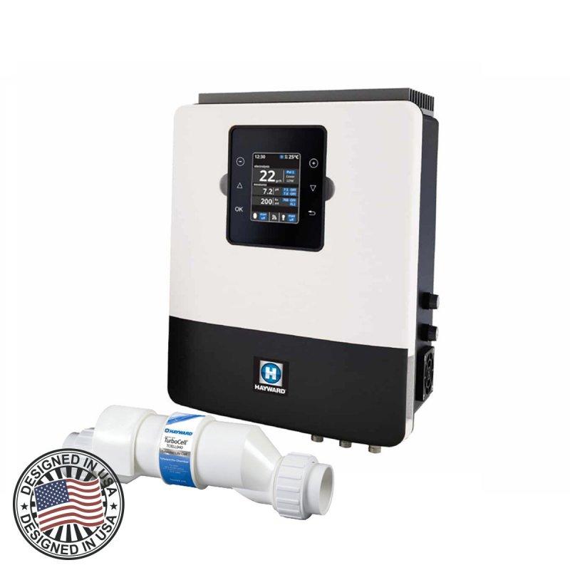 Хлоратор + станция контроля качества воды Hayward Aquarite Plus T15E + Ph 30 г/час