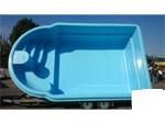 Стеклопластиковый стекловолоконный бассейн Мустанг 6,5 х 3,8 х 1,6м