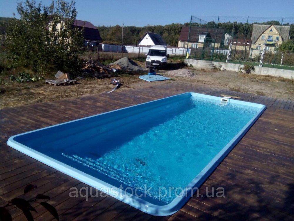 Бассейн Покровский-2 8,21 х 3,25 х 1,50м с оборудованием и монтажом