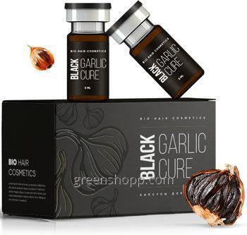Купить Средство Black Garlic Cure Блэк Гарлик Кур для защиты и роста волос