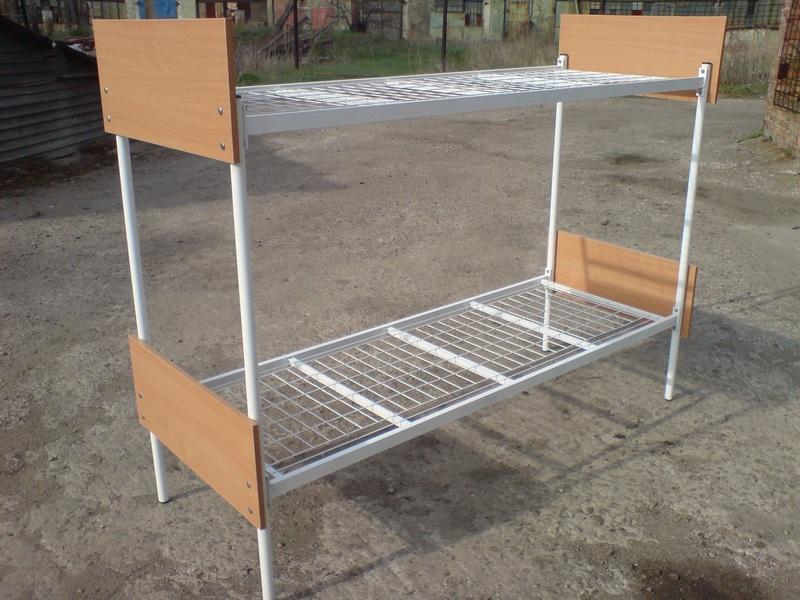 металлические кровати двухъярусные фото