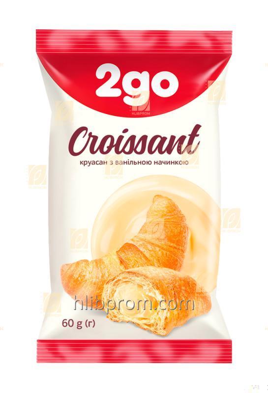 Купить Круассан 2go с ванильной начинкой 0,06 кг