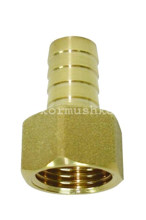 Штуцер 20 мм с внутренней резьбой 1/2 латунный, 540050927