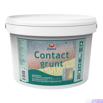Купить Адгезионная грунтовка для невпитывающих поверхностей Eskaro Contact Grunt 12кг