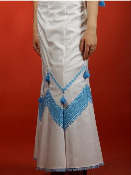 Вышитая юбка - вышиванка С 10