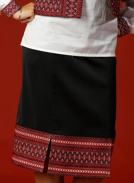 Юбки классические Вышитая юбка - вышиванка С 5