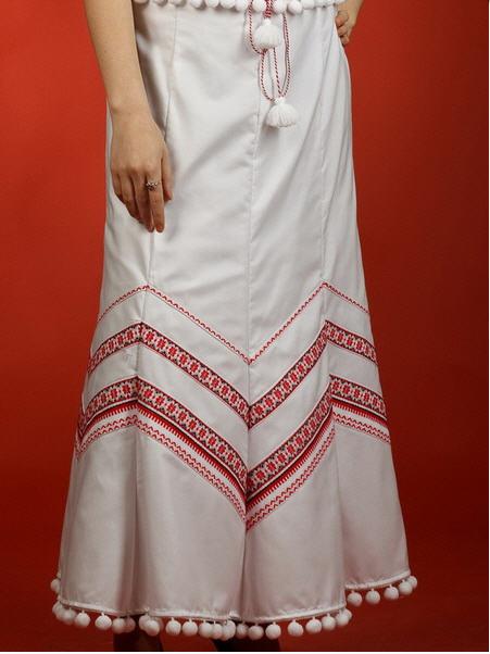 Вышитая юбка - вышиванка С 12