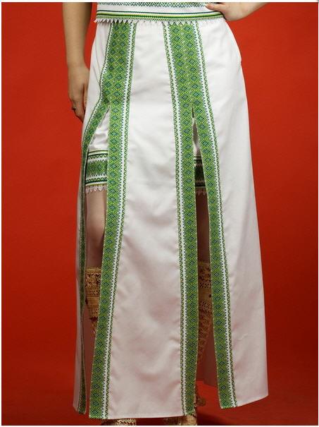 Вышитая юбка - вышиванка С 11