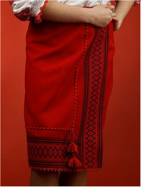 Вышитая юбка - вышиванка С 9