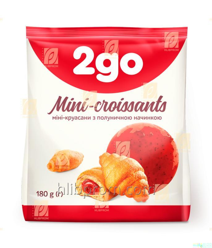 Buy 2go croissant with strawberry filling 0.18 kg