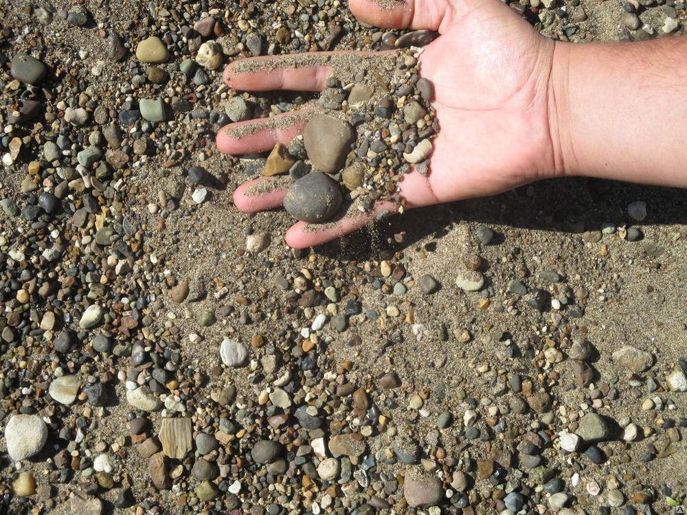 Купить Песчанно гравийвая смесь, ПГС фракция 0*5мм.