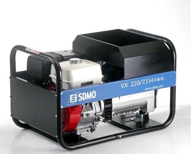 Купить Бензиновый комбинированный сварочный генератор SDMO VX 220 4H