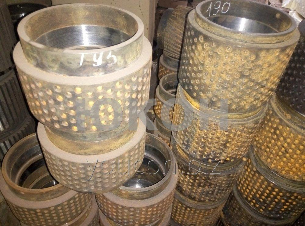 OGM roller shell is 1.5. Shell is 190,195,200,204,205 (narrow, wide, straight, oblique, perforation)