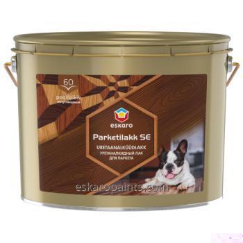 Купити Алкідно-уретановий лак для дерев'яних і бетонних підлог Eskaro Parketilakk SE 60 10L