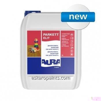 Buy Decorative and protective varnish for parquet Aura Luxpro Parkett Elit Matt 5L