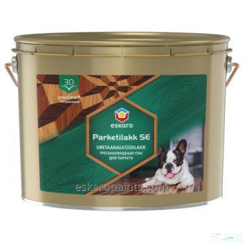 Buy Alkyd-urethane varnish for wood and concrete floors Eskaro Parketilakk SE 30 10L