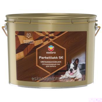 Buy Alkyd-urethane varnish for wood and concrete floors Eskaro Parketilakk SE 60 10L