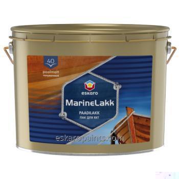 Buy Alkyd-urethane varnish for yachts Eskaro Marine lakk 40 9.5L