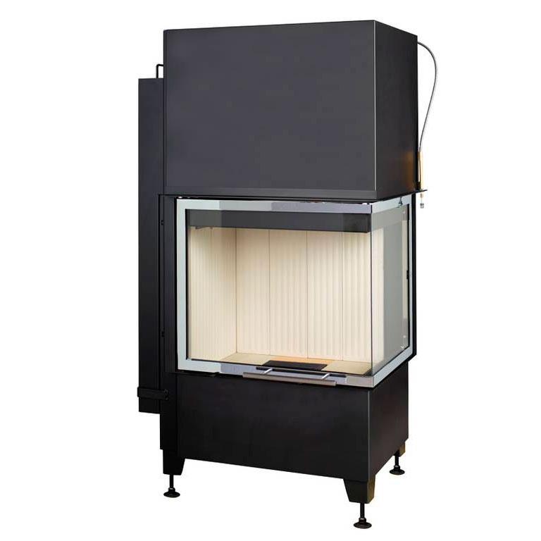 Купить Топка Radiante 550/20/57-66.44 H ECOplus, черная рамка, правая (Hark)