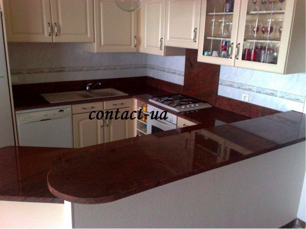 Купить Столешницы для кухни и ванной из гранита Red Multi Color