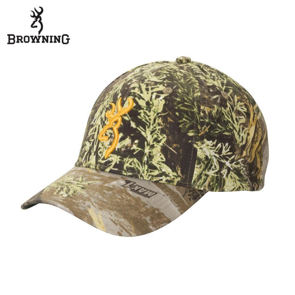 Кепка для охоты и рыбалки Browning Rimfire 3D Buckmark Cap Realtree MAX-1