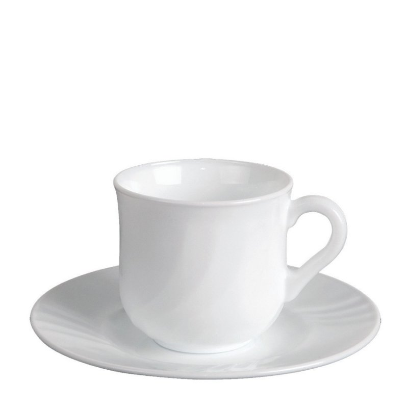 A set of cups and saucers 6pr  for coffee 100 ml ebro